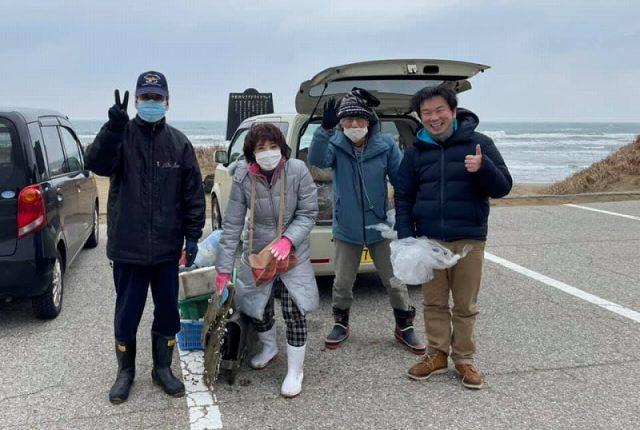 千里浜をきれいにする会